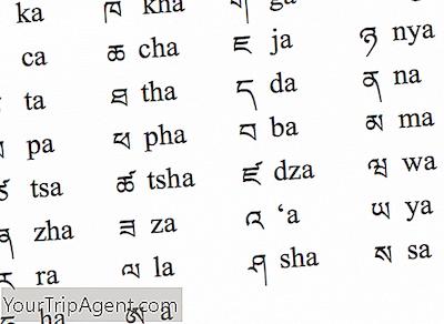 alfabeto risalente a partire da un