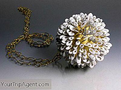 Reino Unido diseñador de Oro Rosa de larga señoras grabado Círculo declaración collar joyería